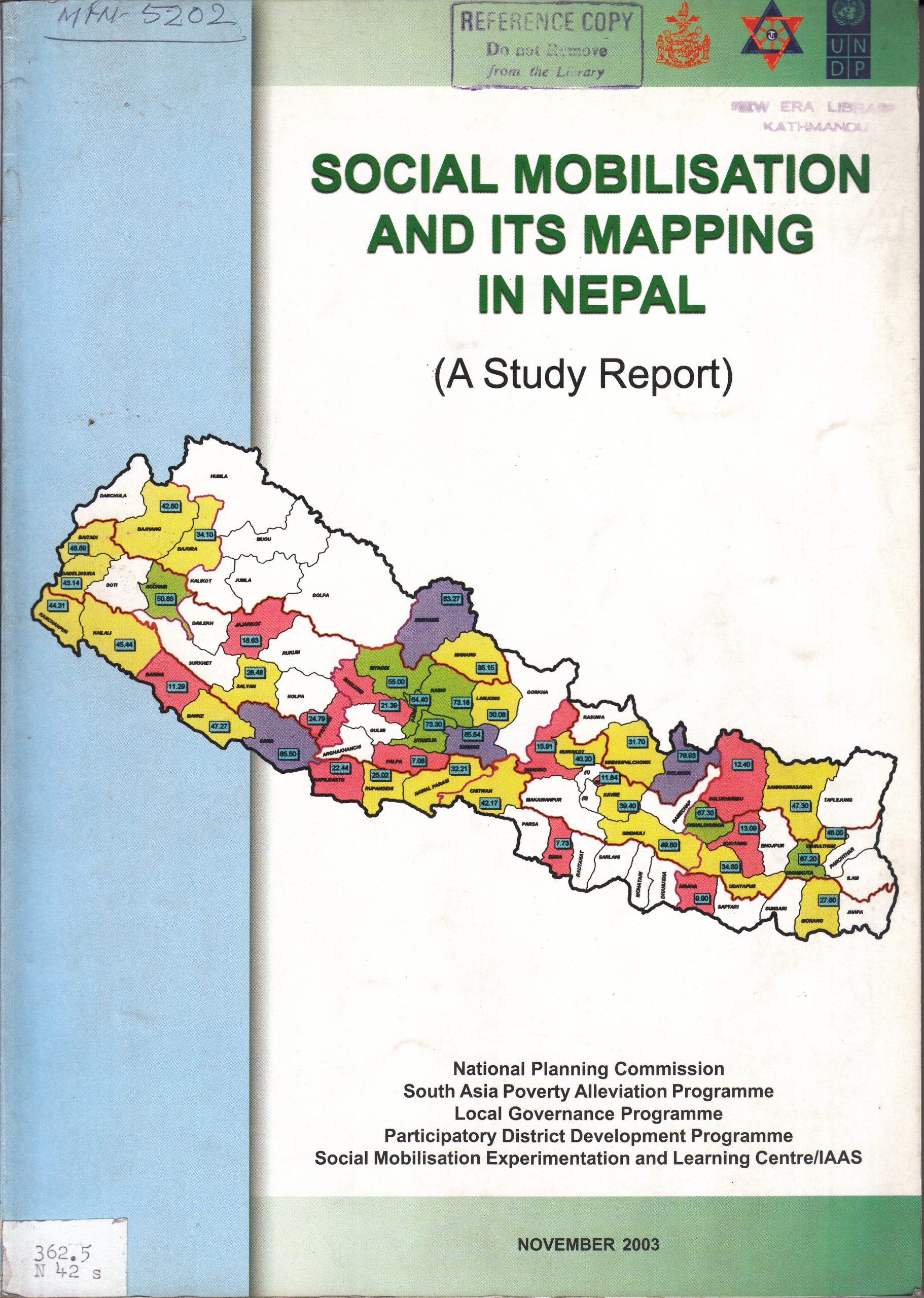 Social Mobilization and Its Mapping of  in Nepal – A Study Report