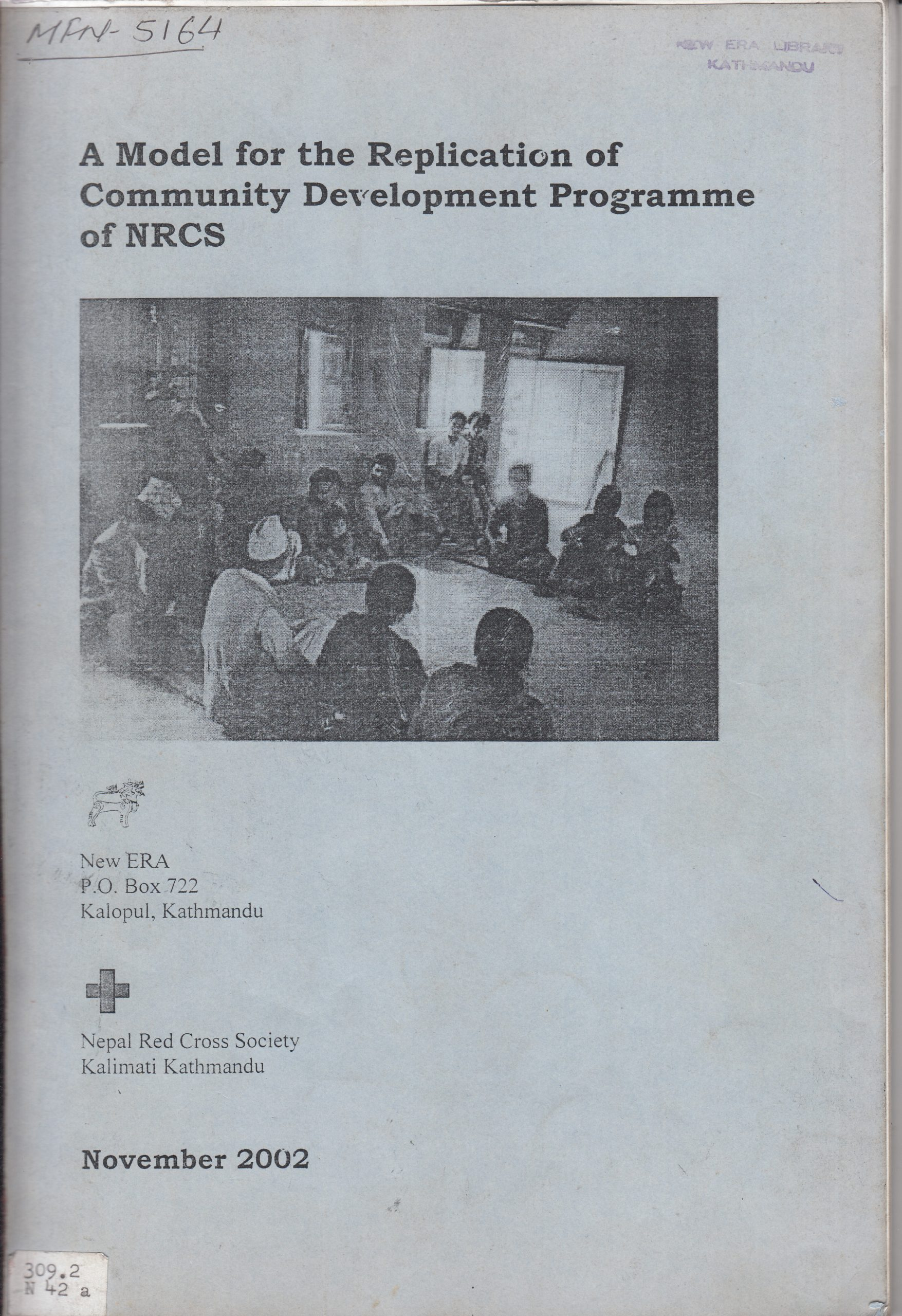 A Model for the Replication of Community Development Program of NRCS