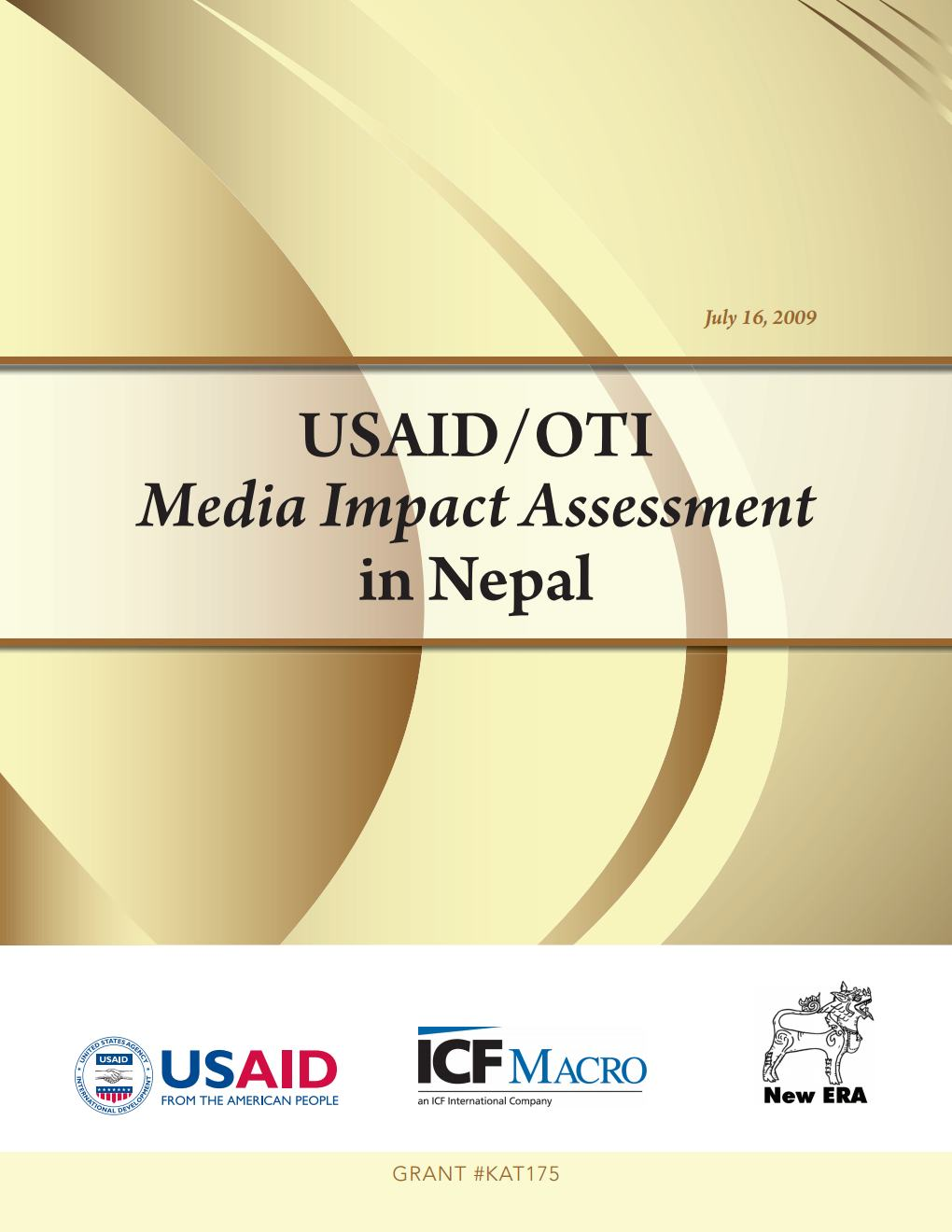 Media Impact Assessment in Nepal