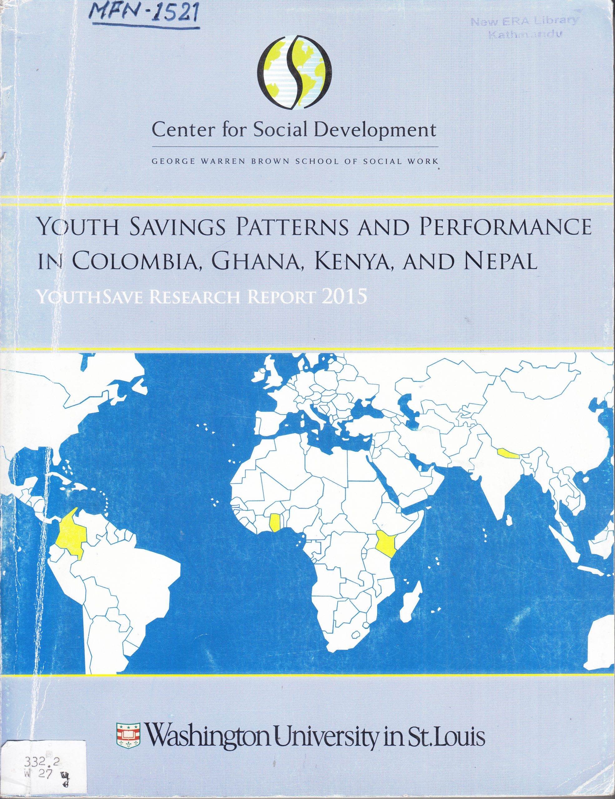 Youth Savings Patterns and Performance in Colombia, Ghana, Kenya and Nepal