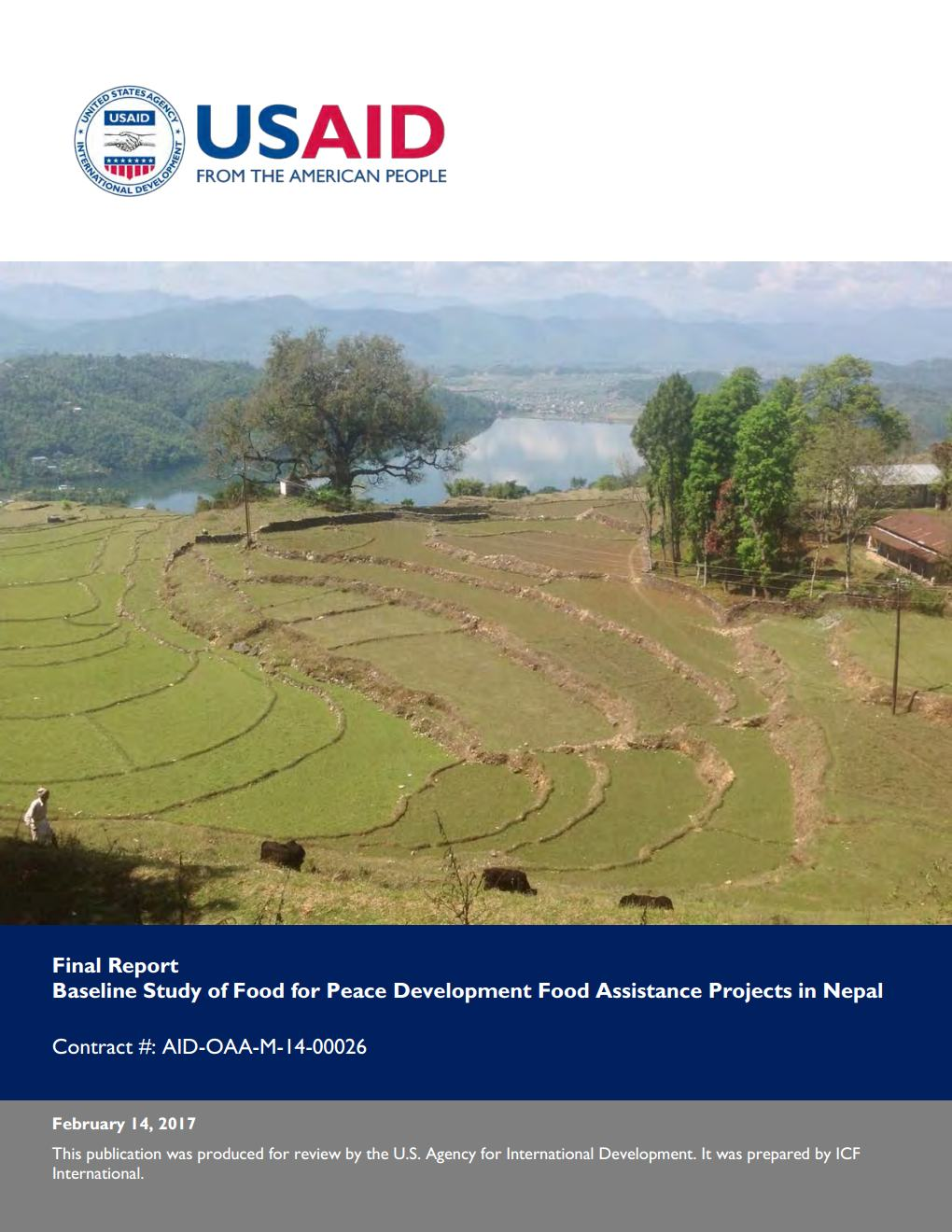 Baseline Study of Food for Peace Development Food Assistance Projects in Nepal