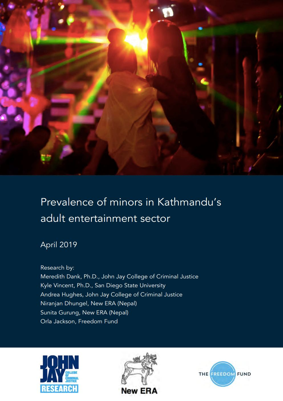Prevalence of Minors in Kathmandu's Adult Entertainment Sector