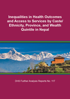 Further Analysis of 2016 Nepal Demographic and Health Survey