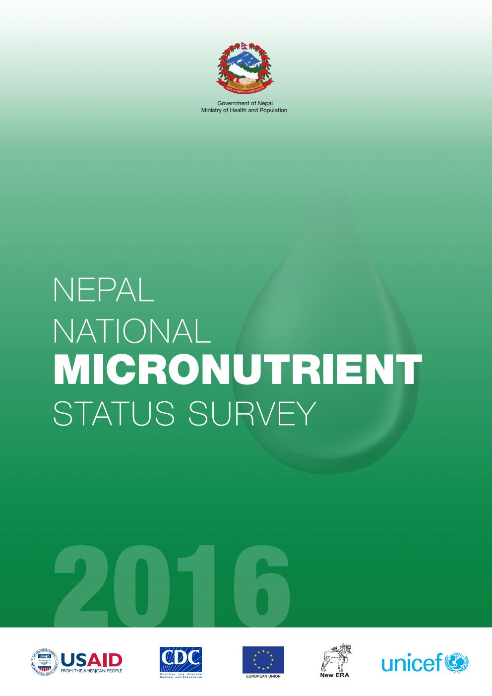 Nepal National Micronutrient Status Survey